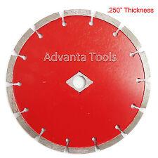 "7"" x .250"" Tuck Point Diamond Blade for Mortar Concrete Masonry - Premium Grade"