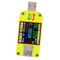UM34 USB3.0 Color LCD Display Tester Current Measure Meter Language Switch