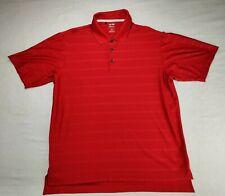 Adidas Red ClimaCool Mens Xl Polo Short Sleeve Golf Shirt