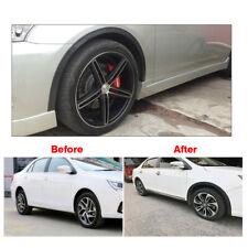 4 Pcs Universal Car Wheel Fender Extension Rubber Moulding Flare Trim Protector Fits Pontiac Sunfire