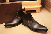 NEW Church's Mens Black Leather Chelsea Boots Shoes UK 9