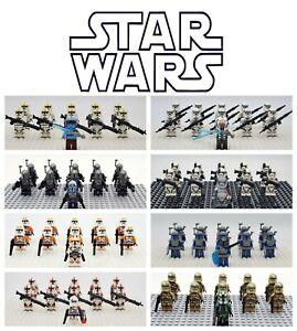 USA SELLER Star Wars Mandalorian MEGA Assortment Set 20 Minifigures Lot