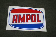 Ampol self-adhesive vinyl decal for petrol bowser Gilbarco CM or Wayne Bullseye