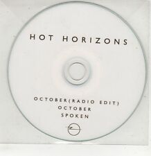 (GU50) Hot Horizons, October / Spoken - DJ CD