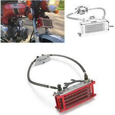Genuine Aluminum Engine Oil Cooler Radiator System Horizontal Engine Cooling Kit