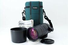 Sigma AF 135-400mm f/4.5-5.6 APO Telephoto AF For Minolta Sony A mount #715909