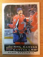UD TIM HORTONS 2020-2021 ALEX OVECHKIN CANVAS HOCKEY CARD C-7