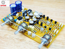 Assembeld Fully Separation HIFI Tone Preamp Board Base On UK NAD Preamplifier