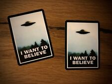 2x UFO Aufkleber Alien Roswell Landung Tuning Auto Motorrad Vintage Retro #271