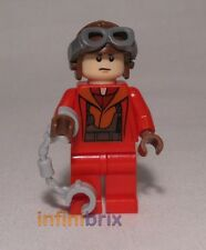 Lego Naboo Red Fighter Pilot from Sets 7877 + 9674 Star Wars BRAND NEW sw340