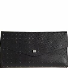 Lodis Accessories Women's Blair Perforated Amanda Continental Clutch