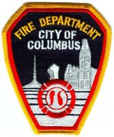 Columbus Fire Department Patch Indiana IN