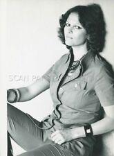 CLAUDIA CARDINALE 1970s VINTAGE PHOTO ORIGINAL