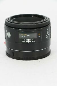 MINOLTA AF 50mm f/1.7 - Professionally Tested - Faulty