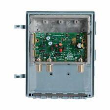 MHW35FS 35Db Shielded Masthead Amp 'F' Type UHF/VHF Kingray Filters For FM, VHF,