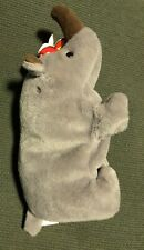 Ty Beanie Babies Spike The Rhino Dob1996 #4060 *Retired Rare Vintage* Preowned
