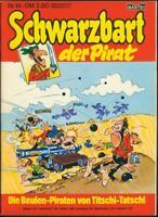 Schwarzbart der Pirat Nr.14 von 1980 - TOP Z0-1 BASTEI COMICHEFT Marcel Remacle
