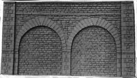 Tall Stone Embankment Walls 380mm 210mm Walls L9a UNPAINTED O Scale Models Kit