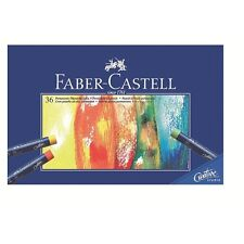Faber-Castell Oil Pastel Crayons Studio Quality Box of 36 colours Professional