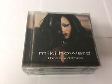 MIKI HOWARD THREE WISHES CD MINT 013431850229 PEAK LABEL