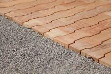 Holzpflaster,Terrassen Dielen,cobbleSTONE,Holzfliesen, Outdoor Holzboden Parkett