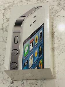 Apple iPhone 4s - 16GB - White (AT&T) New in Sealed Box - Collectors Item!!