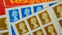 Royal Mail 1st Class 2nd class Self Adhesive Letter Large Letter Postage Stamps