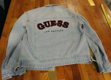 Guess Original Sample Stonewash Men's Denim Jacket S/M