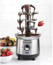 Cascading Electric Fondue Chocolate Fountain Machine - 2 lb. Capacity, BPA-Free