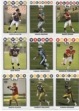 2008 TOPPS FOOTBALL SET 440 cards plus 5 insert sets RC Flacco Ryan Rice Johnson
