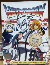 ANIME HEROMAN COMPLETE TV SERIES VOL.1-26 END DVD ENGLISH SUBTITLE
