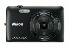 Nikon COOLPIX S4300 16 MP Digital Camera | 6x Zoom NIKKOR Glass Lens | Black