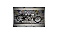 1940 Norton 16H Bike Motorcycle A4 Photo Poster