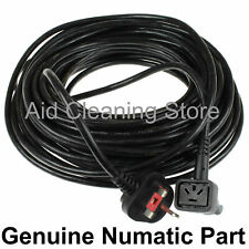 20m Cable Lead & Plug Flex For Numatic Twintec Scrubber Polisher TT4045, TT4550