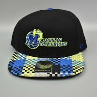 Dallas Mavericks '47 Brand NBA Hardwood Classics Cool Brim Snapback Cap Hat