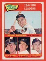 1965 Topps #5 Mickey Mantle EX-EXMINT Robinson Killebrew New York Yankess HOF