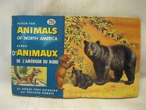 Brooke Bond Red Rose Tea Canada Animals of North America Album & Cards