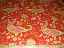 """~BTY~RICHLOOM~""""PHEASANTS BIRDS"""" ANIMAL~AWSOME COTTON UPHOLSTERY FABRIC FOR LESS~"""