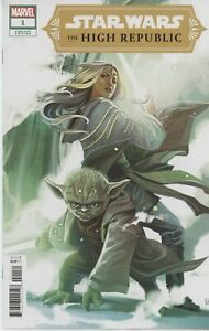 Star Wars High Republic #1 -  9.6 9.8 - Yoda Variant!