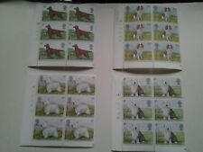 collection GB postage stamps dogs 1979 unused, Royal Mail,