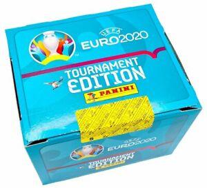 Panini EURO EM 2020 Tournament Edition 1 x Display / 50 Tüten Int. Edition