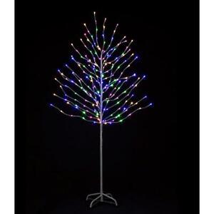 180cm Christmas Rainbow Tree LED Multicolour Lights Indoor Outdoor Decoration