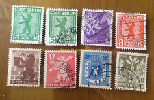 EBS Germany 1945 Soviet Occupation Berlin Bear Berliner Bär - Michel SBZ1-7 U