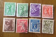"""EBS Germany 1945 Soviet Occupation """"Berlin Bear"""" set Berliner Bär - FU"""
