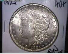 1921 Morgan Silver Dollar - 90% Silver - CHOICE AU