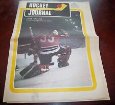 Hockey Journal Bank of B.C. Tony Esposito 1972 Vol 1 No. 6