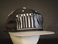 Vintage Chicago White Sox Snapback Hat Baseball Cap NWT Retro Hat MLB Block Logo