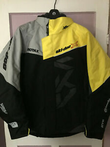 Ski-Doo X-Team Winter Jacket Sunburst Yellow Medium 4407840696 440784
