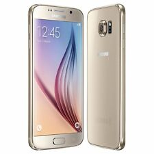 Samsung G920F Galaxy S6 - 32GB - Gold (Unlocked) Smartphone