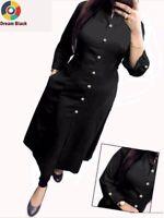 Ethnic Attire Kurti Summer Wear Readymade Pocket Pattern New Full Stitched Kurta